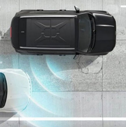blind spot monitoring con rear cross path detection