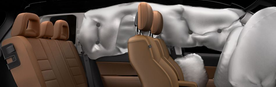 2014 Jeep Compass Airbag Safety