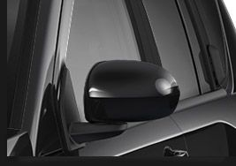 2014 Jeep Compass body color mirrors