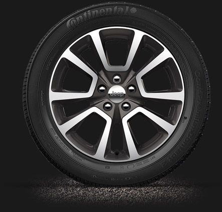 2014 Jeep Compass has 18 Inch Tires