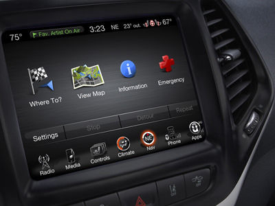 2014 Jeep Cherokee Uconnect