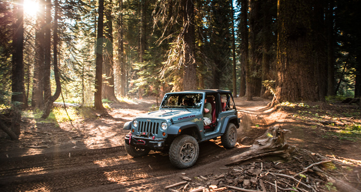 Юбилейная серия: Jeep Wrangler Rubicon 10th Anniversary Edition